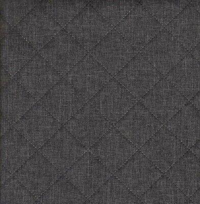 Swafing beschichtete Baumwollstoff Stoff Wachstuch Struktur Muster dunkelgrau 1m