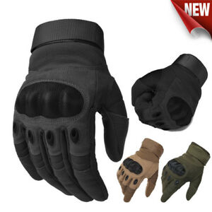 Army Military Tactical Gloves Motorcycle Motorbike Hiking Hunting Outdoor Sports