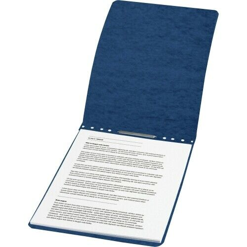 "ACCO PRESSTEX Report Covers Top Bound 8.5x11/"" 2/"" Capacity Dark Blue"