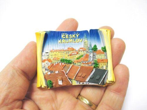 Krumau Moldavie Bohême Poly magnétique Krumlov Cesky souvenir République Tchèque Neuf