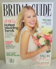 November January February 2016 BRIDAL GUIDE Wedding Bride Dress Gown Magazine