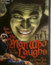 "OOP KIno DVD  Victor Hugo ""The Man Who Laughs"" Conradt Veidt Paul Leni Horror"