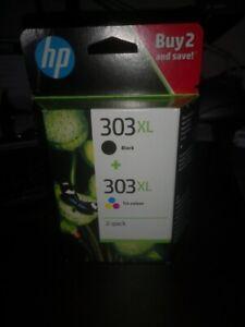 Pack cartouches HP 303 XL noire et couleurs