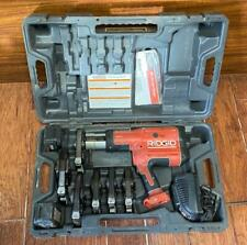 Rigid Propress Model Rp 330 Crimper With 6 Jaws With 12 2 Dies