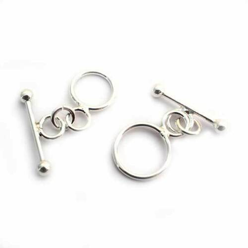 lt.weight sterling silver toggle clasp 10mm
