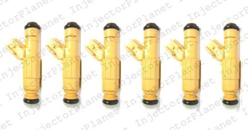 Set of 6 Bosch 0280155861 fuel injector 1998-2000 Ford Contour 2.5L V6 XS2E-A5B