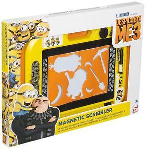 Despicable-Me-3-Minions-Medium-Magnetic-Scribbler-Drawing-Doodle-Board-Disney
