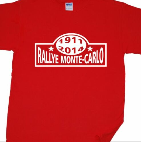 Monte Carlo Rallye T-Shirt WRC, Ford, Toyota, Mini, Monaco