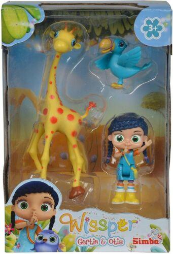 Wissper Gertie /& Otis Figurine Personnage Jouet Jeu Set Entièrement neuf dans sa boîte Par Simba 3 ans #NG