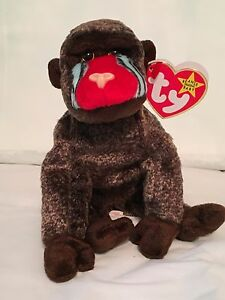 PE Pellets Pristine with Mint Tags POUNCE the Cat TY Beanie Baby Retired