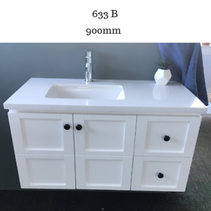 Bathroom Vanity Cabinet Unit 900 Mm