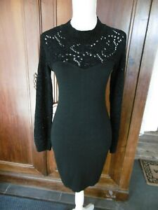 CHANTAL-THOMASS-suite-SUPERBE-robe-noire-TAILLE-1