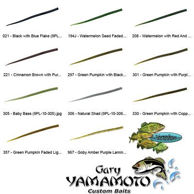 Yamamoto Senko 9L-05-306 Natural Shad 6 Inch Senko Lures 5 Per Pack