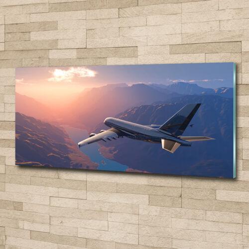 Wandbild aus Plexiglas® Druck auf Acryl 125x50 Fahrzeuge Flugzeug