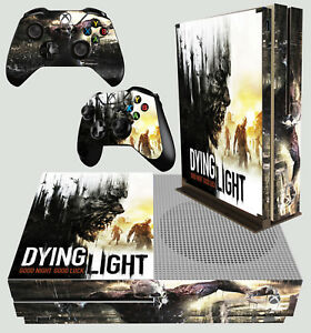 Dying Light Horreur Zombie Undead Xbox One S Fin Console Autocollant Peau & Pad