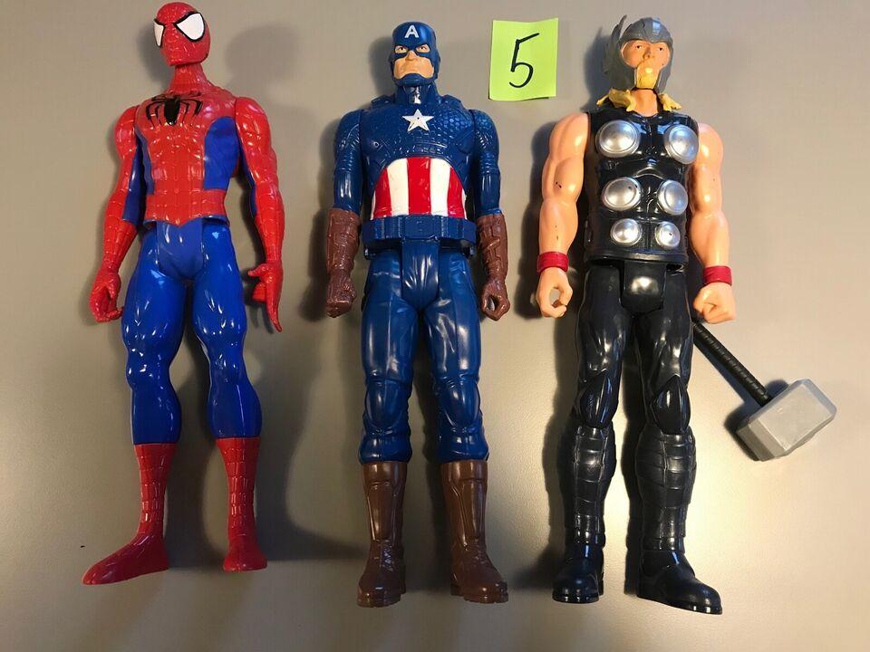 30 cm høje Avengers, super helte, action figurer