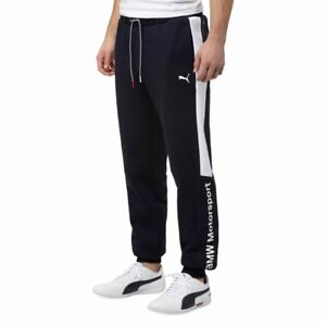 029fbd46 Image is loading Mens-Puma-Official-BMW-Motorsport-Track-Sweat-Pants-