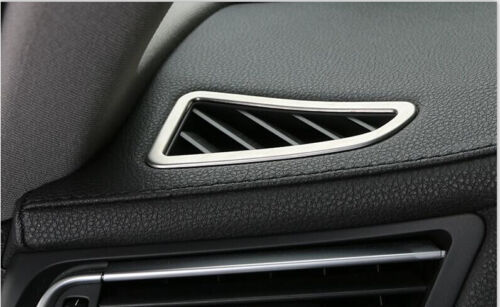 2* Inner Front Air Condition Vent Cover Trim For BMW 7 Series F01 F02 2010-2015
