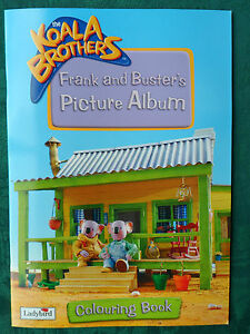 Details about Frank and Buster's Picture Album: Colouring Book! The Koala  Brothers