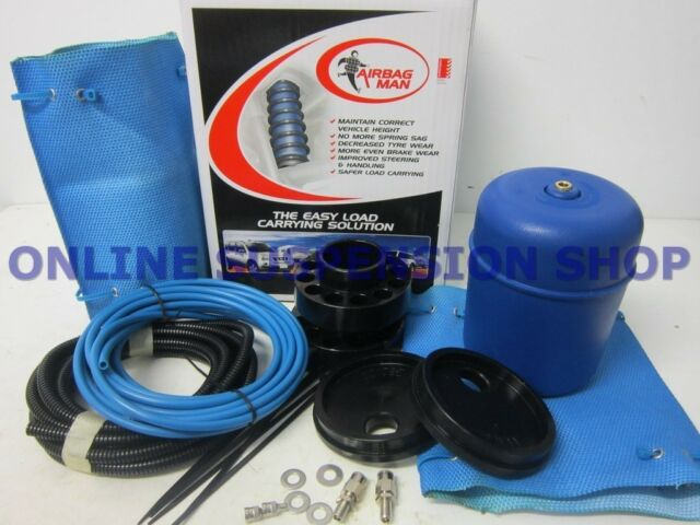 "Suits Nissan Patrol GU Y61 Wagon  2"" Lift FIRESTONE COILRITE HP Poly Air Bag Kit"