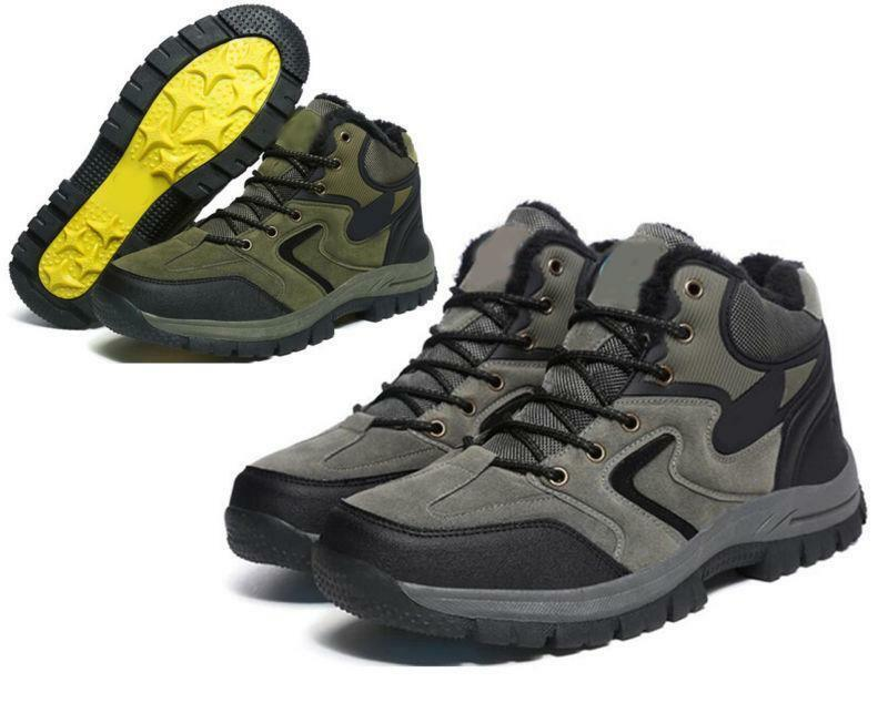 Uomo warm Hiking Climbing Athletic Athletic Athletic Stivali Waterproof Antiskid Outdoor Shoes new 50ed94