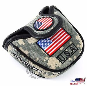 HEAVY-DUTY-USA-Military-Mallet-Putter-Cover-For-Scotty-Cameron-Odyssey-2ball