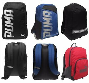 PUMA PIONEER PHASE BACKPACK RUCKSACK MENS BOYS GIRLS UNISEX SCHOOL ... 3cbdf51b58cad