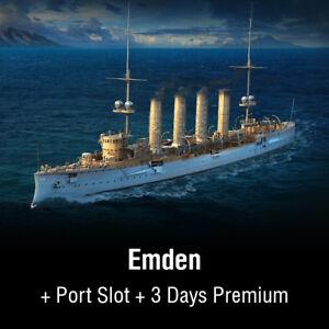 Details about World of Warships | ORGANIC | BONUS CODE | Red | EU | PC-  show original title
