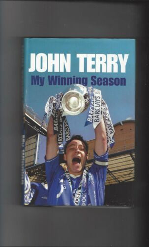 1 of 1 - John Terry My Winning Season 2005 Hardback Edition Football Book