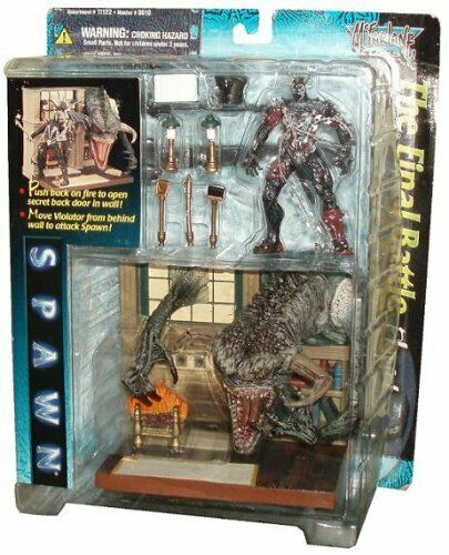 McFarlane Toys spawn the movie année 1997 Playset-La Bataille finale Playset