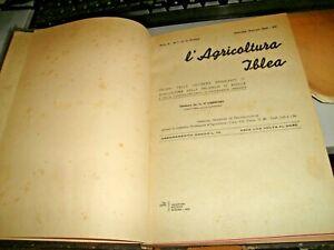 rivista-L-039-AGRICOLTURA-IBLEA-anno-IV-completo-rilegato-RAGUSA-1935
