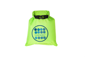 Shewee Dry Bag Green Ideal for Camping and Festivals