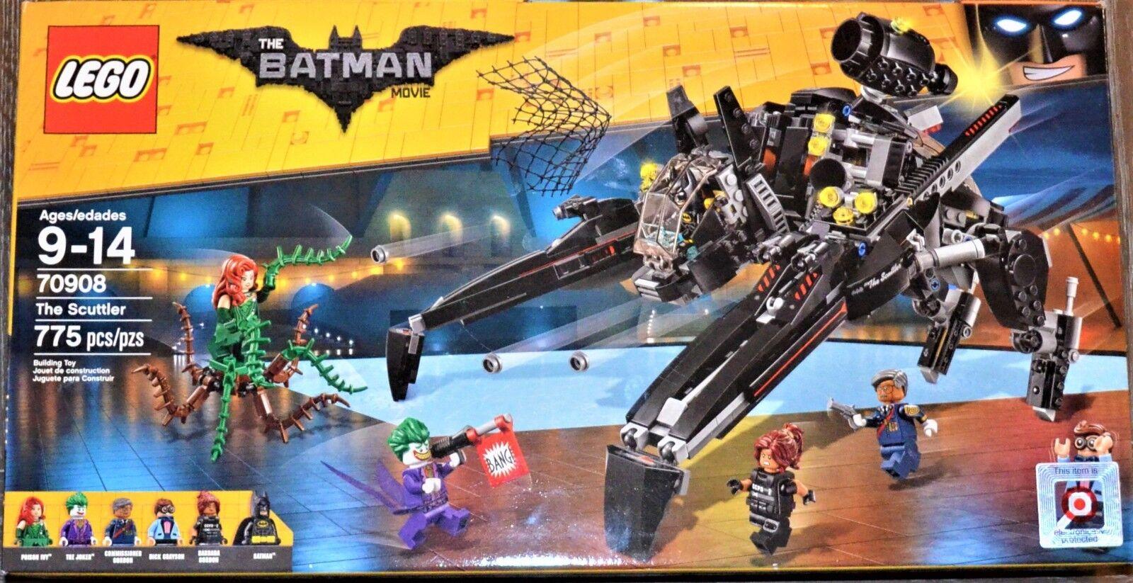 NEW LEGO THE BATMAN MOVIE 2017   THE SCUTTLER   70908 THE JOKER POISON IVY FIGHT