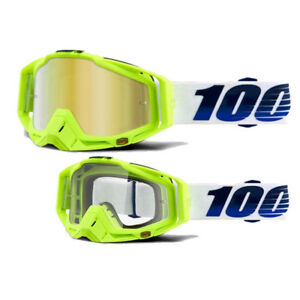 100% RACECRAFT GP21 - Mirror Gold Lens - Sonnenbrillen - Performance Gold One Size BubIZiCx9h