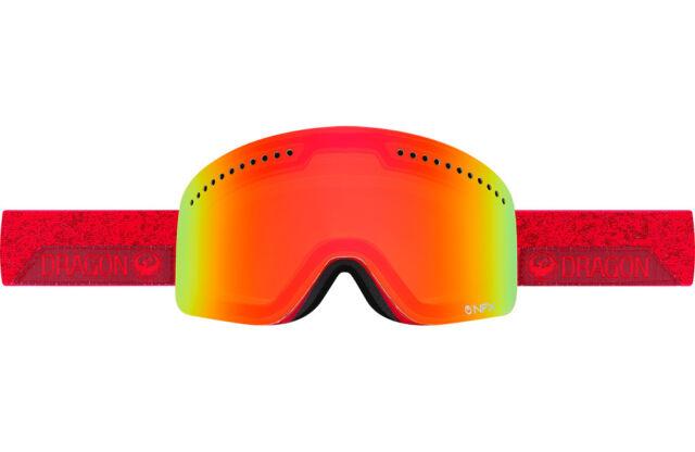 Dragon Nfx Stone Red Ion Mens Large Ski Snowboard Goggles Lens Ret For Sale Online Ebay