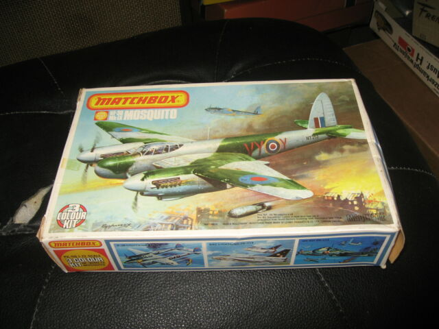 NF-30 Mk-IX  MOSQUITO Bomber in 1/72 scale by Matchbox from 1976
