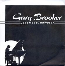 7inch GARY BROOKER lead me to the water GERMAN 1982 EX +PS