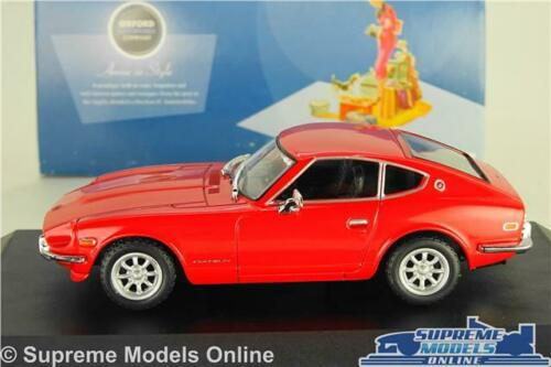 DATSUN 240Z MODEL CAR RED 905 SPORTS COUPE 1:43 SCALE OXFORD DAT001 K8