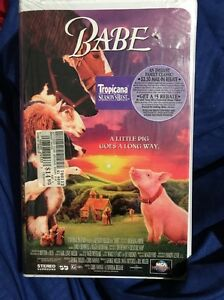 Babe Vhs 1996 Clamshell Movie Mca Universal Home Video Ebay