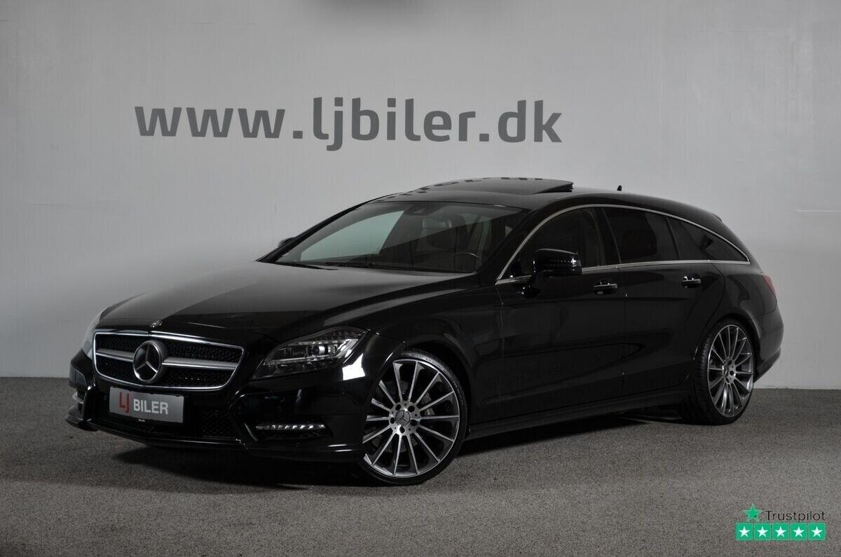 Mercedes CLS350 3,0 CDi SB aut. BE 5d - 429.800 kr.