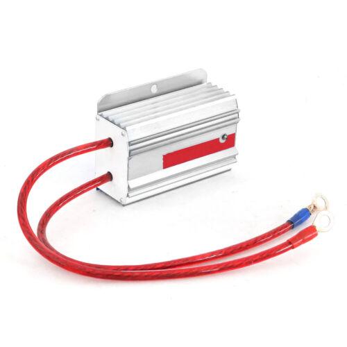 For Car Volt Voltage Stabilizer Regulator Engine Ballast  Fuel Saver Silver