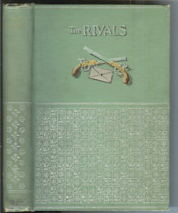 The-Rivals-A-Comedy-by-Richard-Brinsley-1893-1st-Ed-Rare-Antique-Book