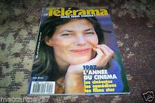 REVUE TELERAMA HORS SERIE FILMS ET COMEDIENS no 20 COUVERTURE JANE BIRKIN