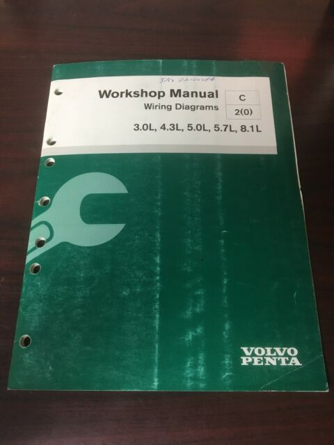 Volvo Penta Wiring Diagrams Workshop Manual 7746659 2006