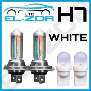 h7 x non blanc 55w feux de croisement phare ampoules feu 501 led feu lat ral ebay. Black Bedroom Furniture Sets. Home Design Ideas
