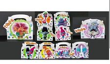 10pc 3D TROLLS FAVOR BOXES is 3D EACH BOX BIRTHDAY PARTY HAND MADE