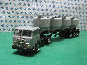 FIAT-682-T3-Semi-remorque-3-Axes-avec-Silos-pour-Ciment-1-43-CB-Modelli-Gila