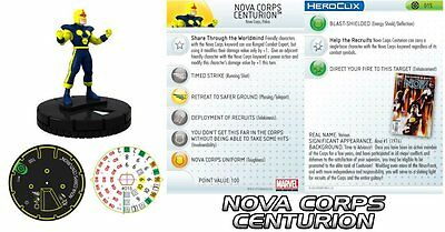 Razionale Nova Corps Centurione #015 Galactic Guardians Marvel Heroclix Acquista One Give One
