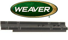 Weaver Brand Black Scope Mount Rail Fits Rossi .22 410 Thompson Center Contender