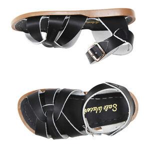 07bea85f6d6 Salt Water Sandals Original Black CHILD kids shoes infant junior ...